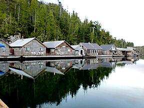 Hakai lodge at hakai pass british columbia canada for British columbia fishing lodges