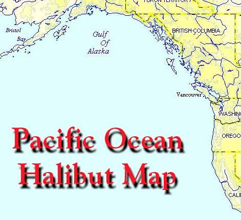 Halibut Fishing Areas In Alaska British Columbia Washington